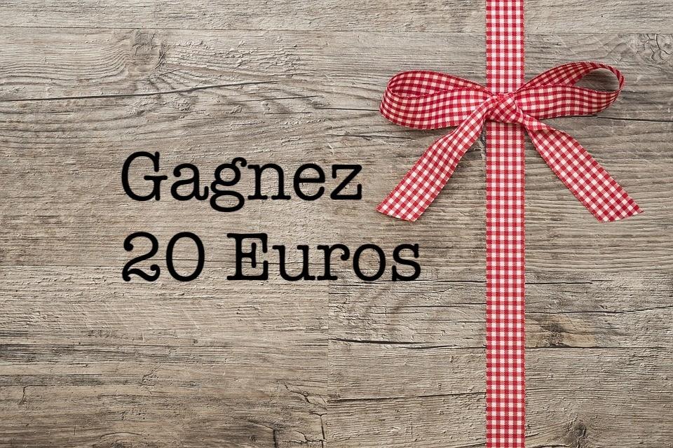 GAGNEZ 2 BONS D'ACHAT DE 20 €