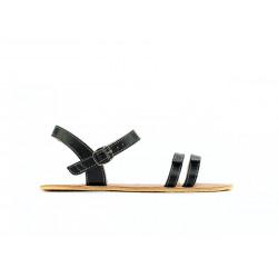 Chaussure cuir barefoot Sandales Be Lenka Noires