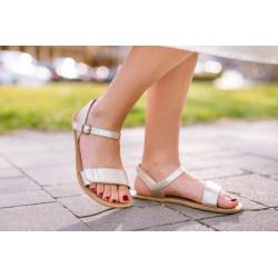 Chaussure cuir barefoot Sandales Be Lenka Or