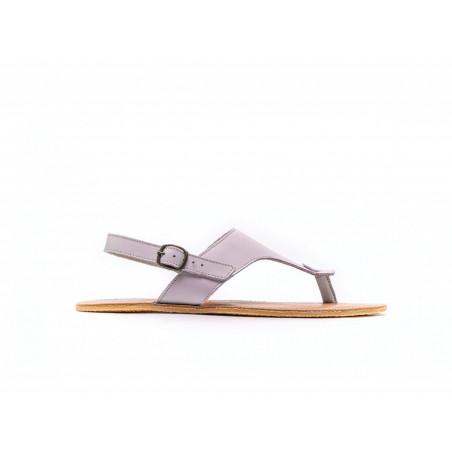 Chaussure cuir barefoot Sandales Be Lenka Rose avec tige