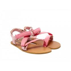 Chaussure cuir barefoot Sandales Be Lenka Rose'20