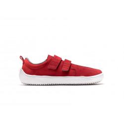 Chaussure cuir Barefoot enfant Be Lenka Jolly - Rouge