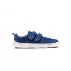 Chaussure cuir Barefoot enfant Be Lenka Jolly - Navy