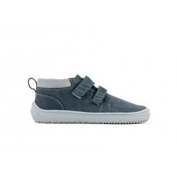 Chaussure cuir Barefoot enfant Be Lenka Play - Charcoal