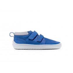 Chaussure cuir Barefoot enfant Be Lenka Play - Navy