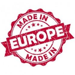 Logo made in Europe.