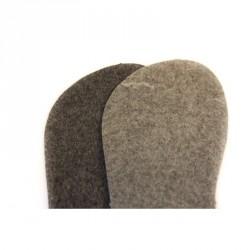 Semelles feutre 100% laine de mouton mérinos