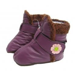 Bottes Violettes FOURRES Carozoo