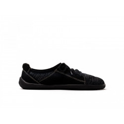 Chaussure barefoot Végan Basket Be Lanka all black