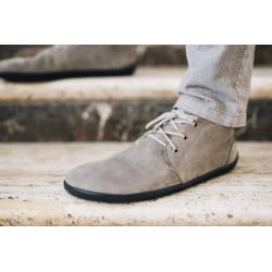 Chaussure cuir Barefoot Be Lenka Grise