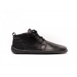 Chaussure cuir Barefoot Be Lenka Noir