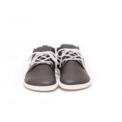 Chaussure cuir Barefoot Be Lenka Grise foncée