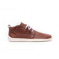 Chaussure cuir Barefoot Be Lenka Cacao