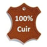 100% cuir