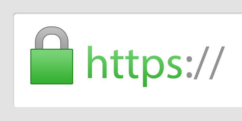 Capture écran certificat SSL