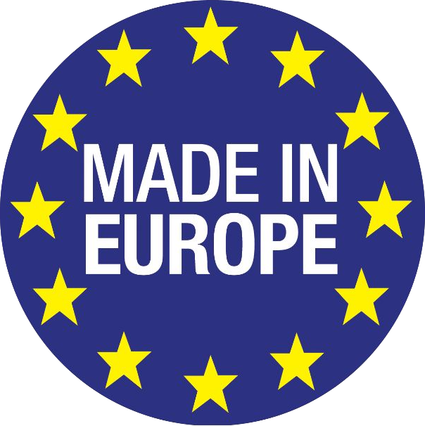 Logo made in europe sur brodi